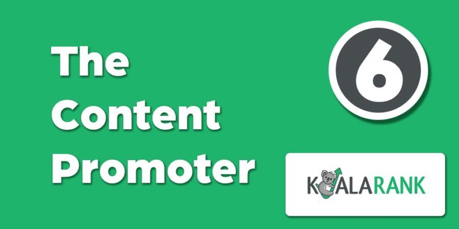 the content promoter