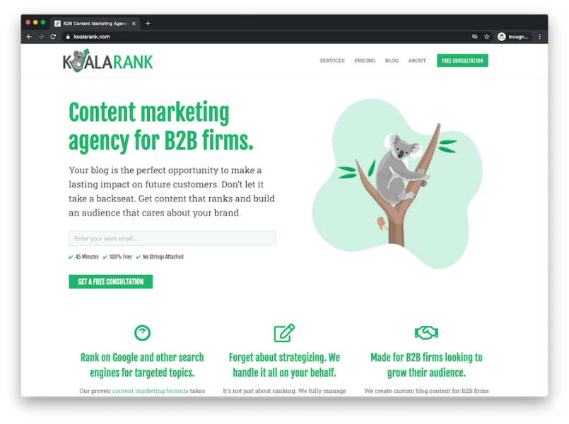 content marketing agency for b2b firms