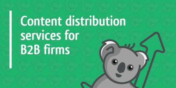 content distribution services for b2b firms