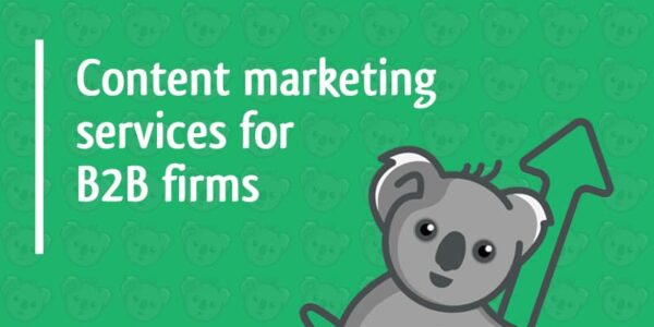content marketing services for b2b firms