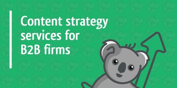 content strategy services for b2b firms