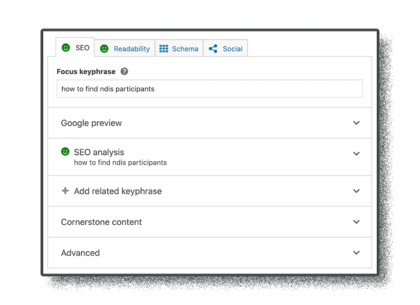 editing and on-page seo work