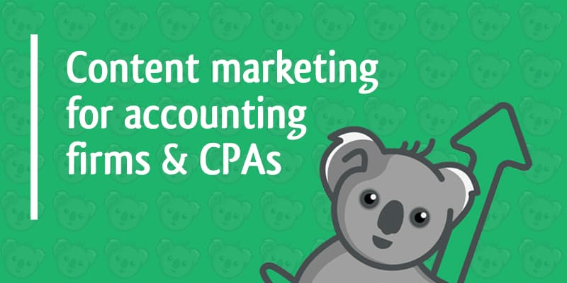 content marketing for accounting firms