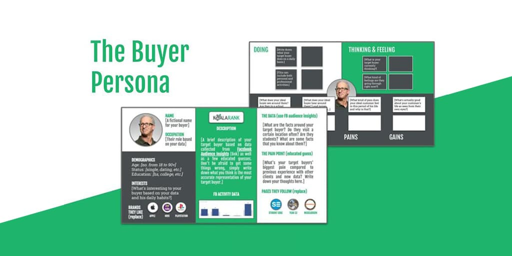 buyer persona template to download