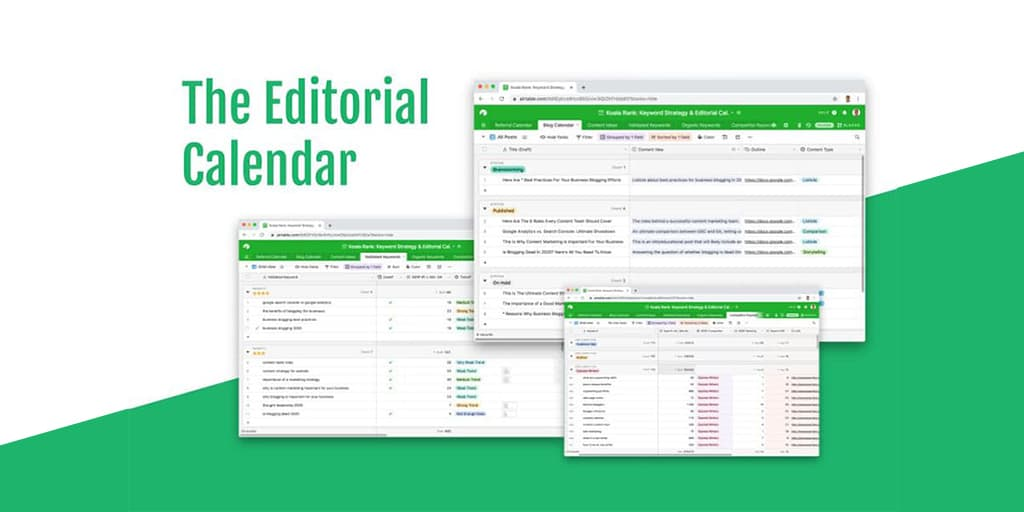 editorial calendar template to download