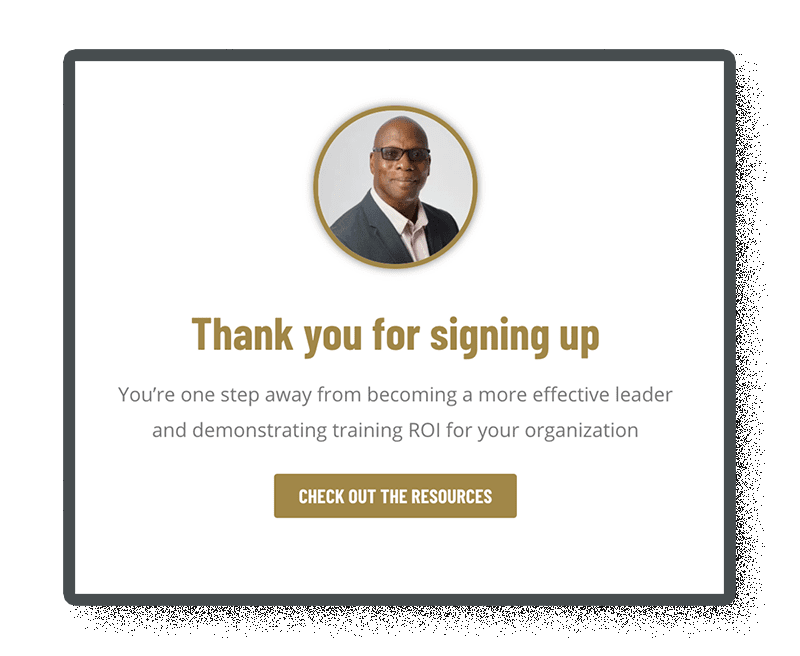 thank you pages are included with landing pages