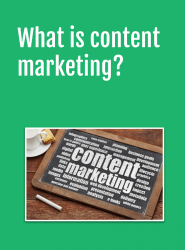 getting started the value of content marketing for small B2B firms